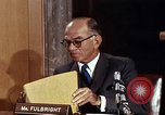 Image of William J Fulbright Washington DC USA, 1969, second 3 stock footage video 65675026724