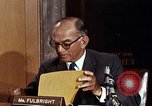 Image of William J Fulbright Washington DC USA, 1969, second 4 stock footage video 65675026724
