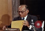 Image of William J Fulbright Washington DC USA, 1969, second 5 stock footage video 65675026724