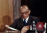 Image of William J Fulbright Washington DC USA, 1969, second 6 stock footage video 65675026724