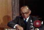 Image of William J Fulbright Washington DC USA, 1969, second 7 stock footage video 65675026724