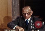Image of William J Fulbright Washington DC USA, 1969, second 8 stock footage video 65675026724