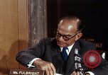 Image of William J Fulbright Washington DC USA, 1969, second 9 stock footage video 65675026724