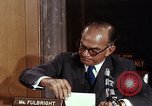 Image of William J Fulbright Washington DC USA, 1969, second 10 stock footage video 65675026724