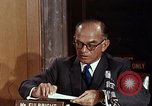 Image of William J Fulbright Washington DC USA, 1969, second 11 stock footage video 65675026724