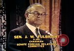 Image of William Fulbright United States USA, 1971, second 6 stock footage video 65675026762