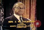 Image of William Fulbright United States USA, 1971, second 7 stock footage video 65675026762