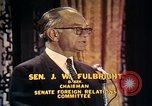 Image of William Fulbright United States USA, 1971, second 8 stock footage video 65675026762