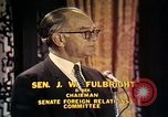 Image of William Fulbright United States USA, 1971, second 9 stock footage video 65675026762