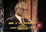Image of William Fulbright United States USA, 1971, second 11 stock footage video 65675026762
