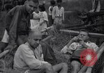 Image of Prisoners rescued from Japanese prison camp Guimba Philippines, 1945, second 10 stock footage video 65675026770