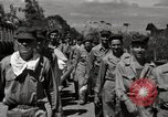 Image of released United States prisoners Cebu Philippines, 1945, second 6 stock footage video 65675026779