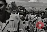 Image of released United States prisoners Cebu Philippines, 1945, second 11 stock footage video 65675026779