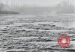 Image of snow covered city Netherlands, 1941, second 8 stock footage video 65675026788