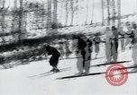 Image of skiing Bohemia Czechoslovakia, 1941, second 2 stock footage video 65675026789