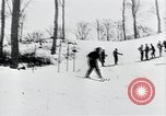 Image of skiing Bohemia Czechoslovakia, 1941, second 12 stock footage video 65675026789