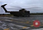 Image of HH-53B helicopter taking off Phan Rang Vietnam, 1970, second 8 stock footage video 65675026836