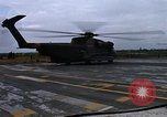 Image of HH-53B helicopter taking off Phan Rang Vietnam, 1970, second 9 stock footage video 65675026836