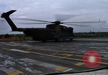Image of HH-53B helicopter taking off Phan Rang Vietnam, 1970, second 10 stock footage video 65675026836