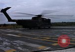 Image of HH-53B helicopter taking off Phan Rang Vietnam, 1970, second 11 stock footage video 65675026836