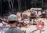 Image of Soldiers being served food during Operation Somerset Plain Vietnam, 1968, second 6 stock footage video 65675026844