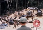 Image of Soldiers being served food during Operation Somerset Plain Vietnam, 1968, second 7 stock footage video 65675026844