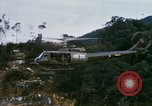 Image of Flying and landing of UH-1H helicopter during Operation Somerset Plain Vietnam, 1968, second 12 stock footage video 65675026846
