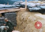 Image of US Soldiers filling sandbags during Operation Somerset Plain Vietnam, 1968, second 7 stock footage video 65675026847