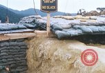 Image of US Soldiers filling sandbags during Operation Somerset Plain Vietnam, 1968, second 8 stock footage video 65675026847
