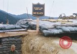 Image of US Soldiers filling sandbags during Operation Somerset Plain Vietnam, 1968, second 9 stock footage video 65675026847