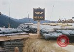 Image of US Soldiers filling sandbags during Operation Somerset Plain Vietnam, 1968, second 10 stock footage video 65675026847