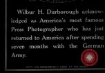 Image of Wilbur H Durborough United States USA, 1915, second 4 stock footage video 65675026873