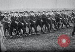 Image of Wandervogel marching Germany, 1915, second 11 stock footage video 65675026874