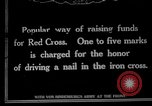 Image of Raising funds for the Red Cross Berlin Germany, 1915, second 1 stock footage video 65675026877