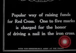 Image of Raising funds for the Red Cross Berlin Germany, 1915, second 4 stock footage video 65675026877