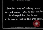 Image of Raising funds for the Red Cross Berlin Germany, 1915, second 5 stock footage video 65675026877