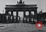 Image of Unicyclists Berlin Germany, 1930, second 4 stock footage video 65675026884
