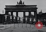 Image of Unicyclists Berlin Germany, 1930, second 7 stock footage video 65675026884