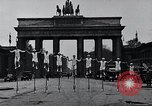 Image of Unicyclists Berlin Germany, 1930, second 8 stock footage video 65675026884
