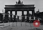 Image of Unicyclists Berlin Germany, 1930, second 9 stock footage video 65675026884