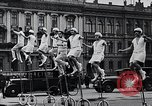 Image of Unicyclists Berlin Germany, 1930, second 13 stock footage video 65675026884