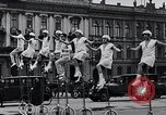 Image of Unicyclists Berlin Germany, 1930, second 14 stock footage video 65675026884