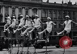 Image of Unicyclists Berlin Germany, 1930, second 15 stock footage video 65675026884