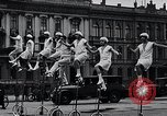 Image of Unicyclists Berlin Germany, 1930, second 16 stock footage video 65675026884