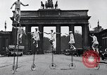 Image of Unicyclists Berlin Germany, 1930, second 17 stock footage video 65675026884