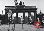 Image of Unicyclists Berlin Germany, 1930, second 19 stock footage video 65675026884