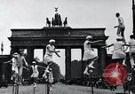 Image of Unicyclists Berlin Germany, 1930, second 23 stock footage video 65675026884