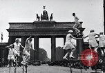 Image of Unicyclists Berlin Germany, 1930, second 24 stock footage video 65675026884