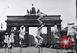 Image of Unicyclists Berlin Germany, 1930, second 25 stock footage video 65675026884