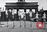Image of Unicyclists Berlin Germany, 1930, second 26 stock footage video 65675026884